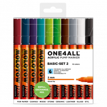 ONE4ALL™ 127HS 2mm 10x - Basic-Set 2 - Clearbox