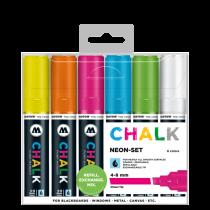 Chalk Marker Neon-Set (4-8 mm)
