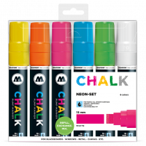 Chalk Marker Neon-Set (15 mm)