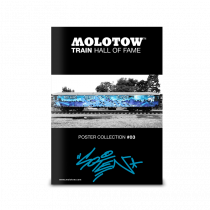 "MOLOTOW™ Train Poster #03 ""SOTEN"""