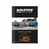 "MOLOTOW™ Train Poster #07 ""RIOT"""