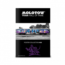 "MOLOTOW™ Train Poster #09 ""FINO"""