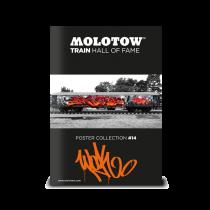 "MOLOTOW™ Train Poster #14 ""WOK"""