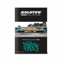 "MOLOTOW™ Train Poster #15 ""TASTE"""