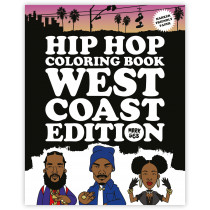 Hip Hop Coloring Book - West Coast